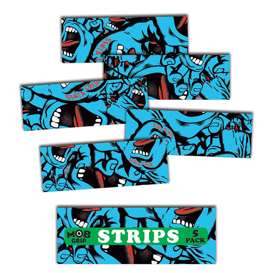 Santa Cruz Hand Collage Grip Strips Grip Tape Mob