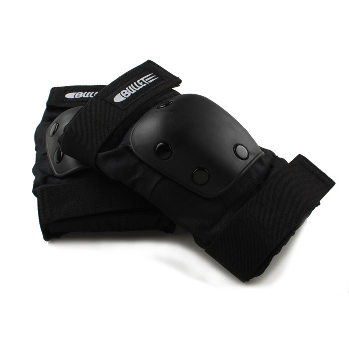 Bullet chrániče na lakte MEDIUM BLACK ELBOW PAD