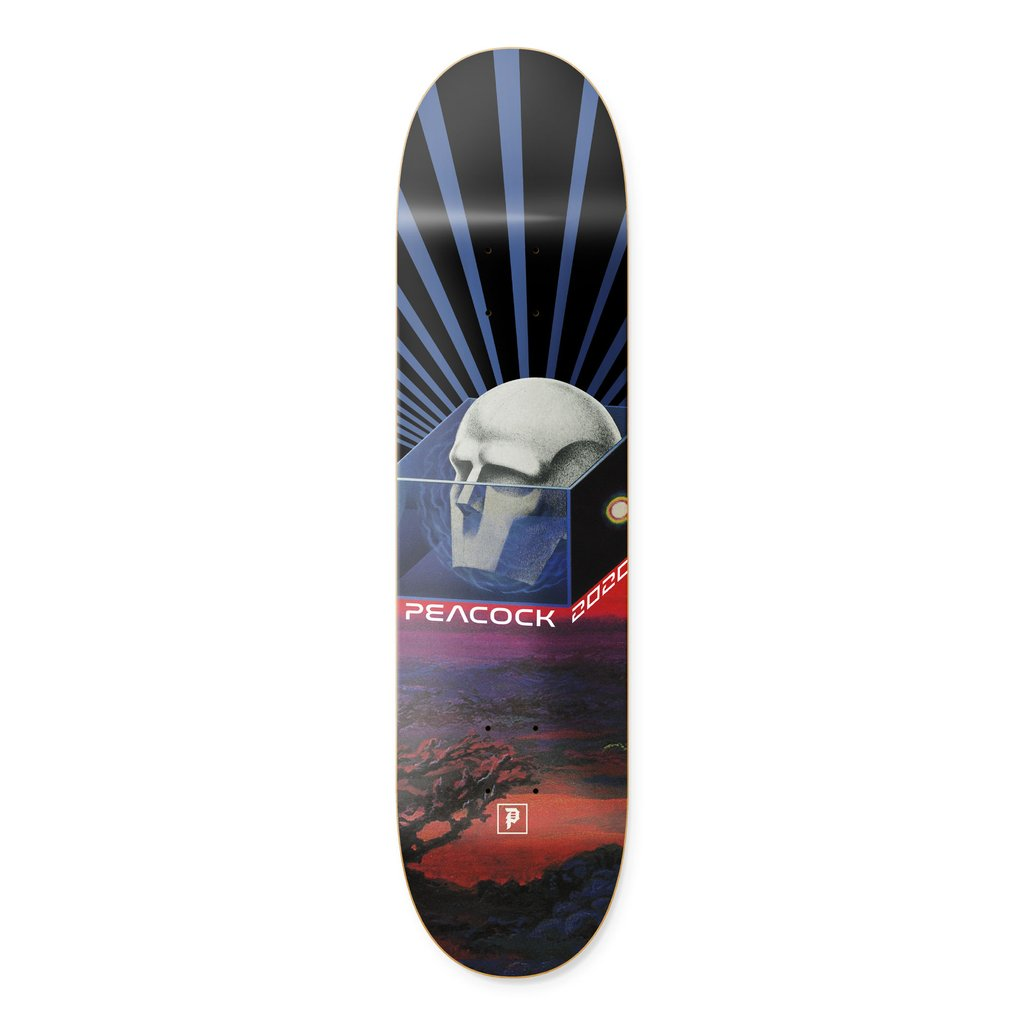 Primitive doska 8.125 PEACOCK MIND CONTROL DECK -BLUE