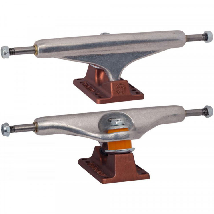 149 Stage 11 Hollow Silver Anodized Dark Red Standard Trucks