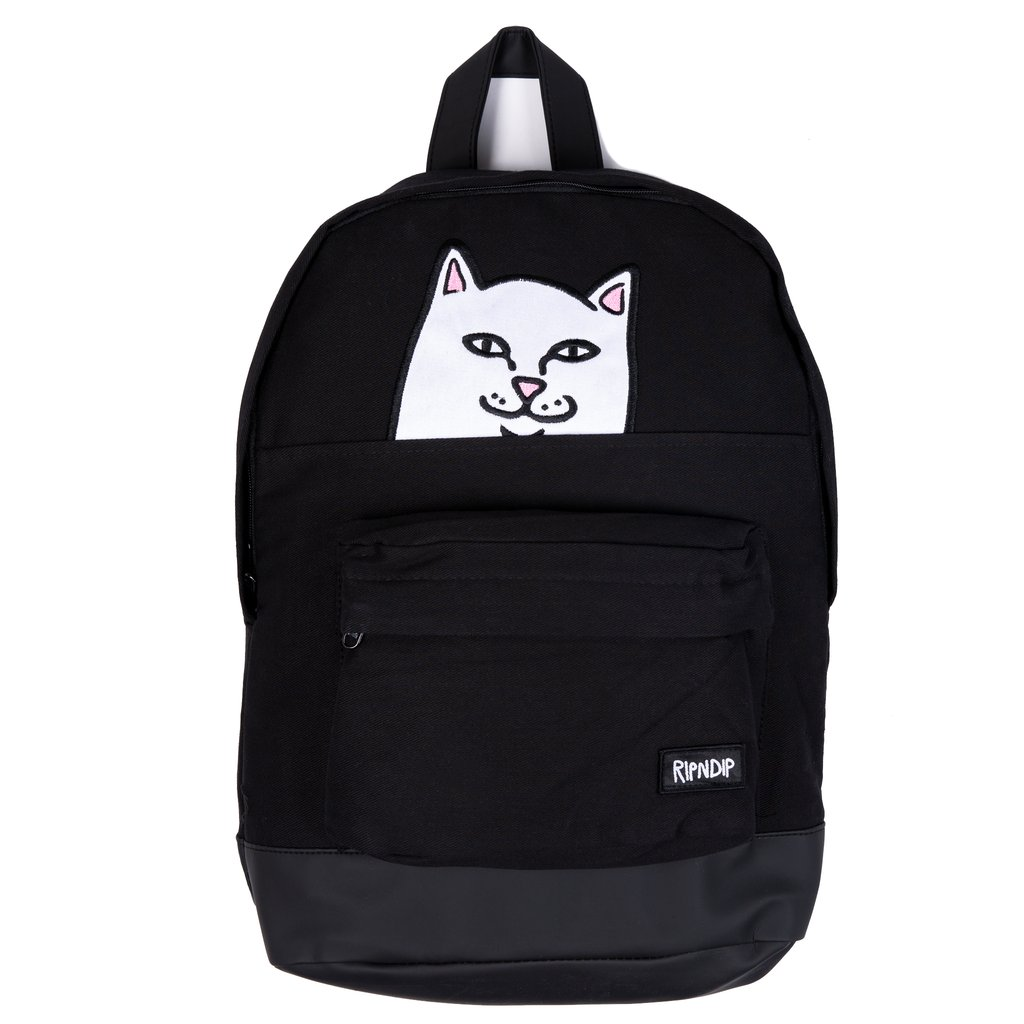 RIPNDIP batoh Lord Nermal Backpack - Black Corduroy