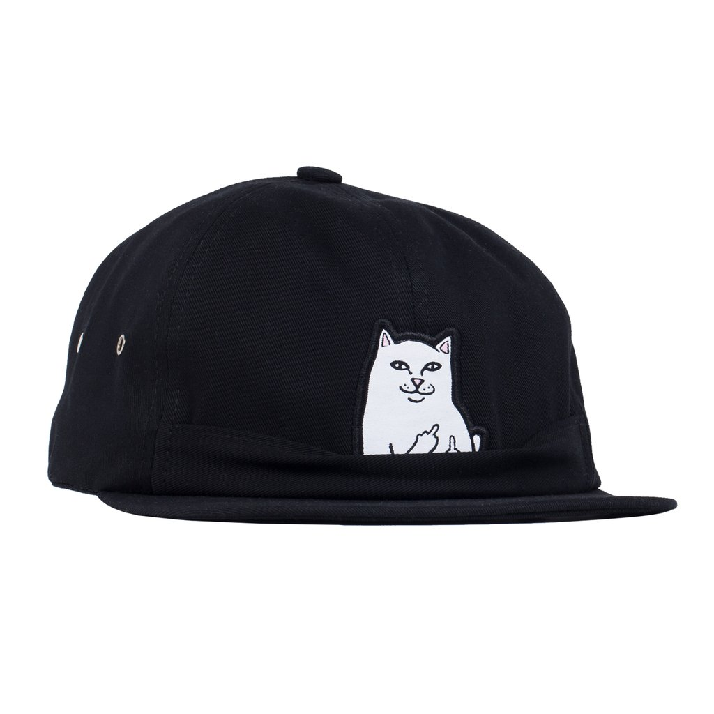 RIPNDIP šiltovka Lord Nermal 6 Panel  - Black