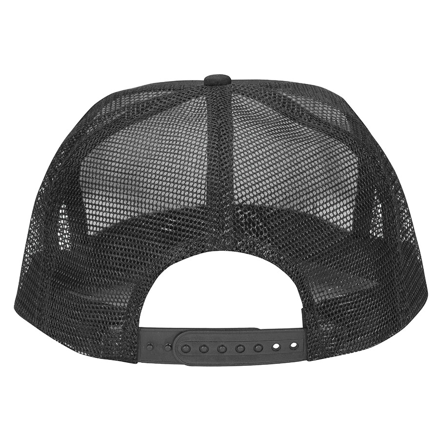 Santa Cruz šiltovka Classic Dot Mesh Trucker Hat - High profile - black