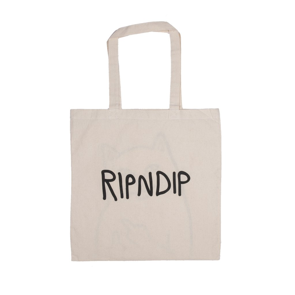 RIPNDIP taška Lord Nermal Tote Bag - natural