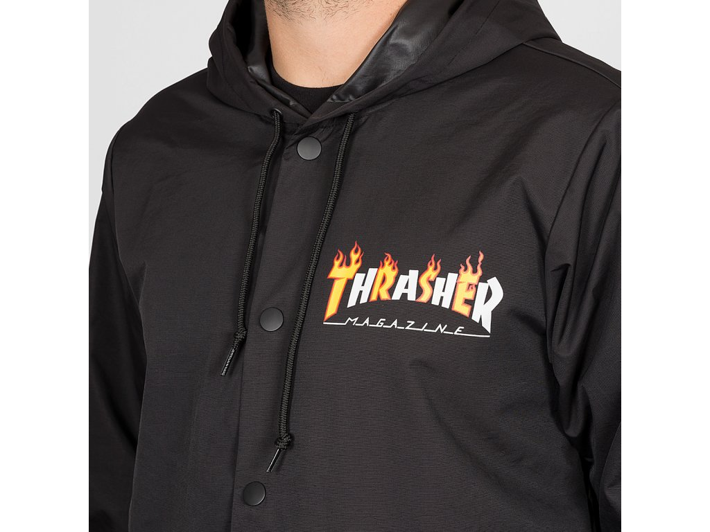 Thrasher bunda FLAME MAG COACH JACKET