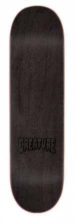 Creature doska Logo Outline LG Hard Rock Maple 8.375in x 32in