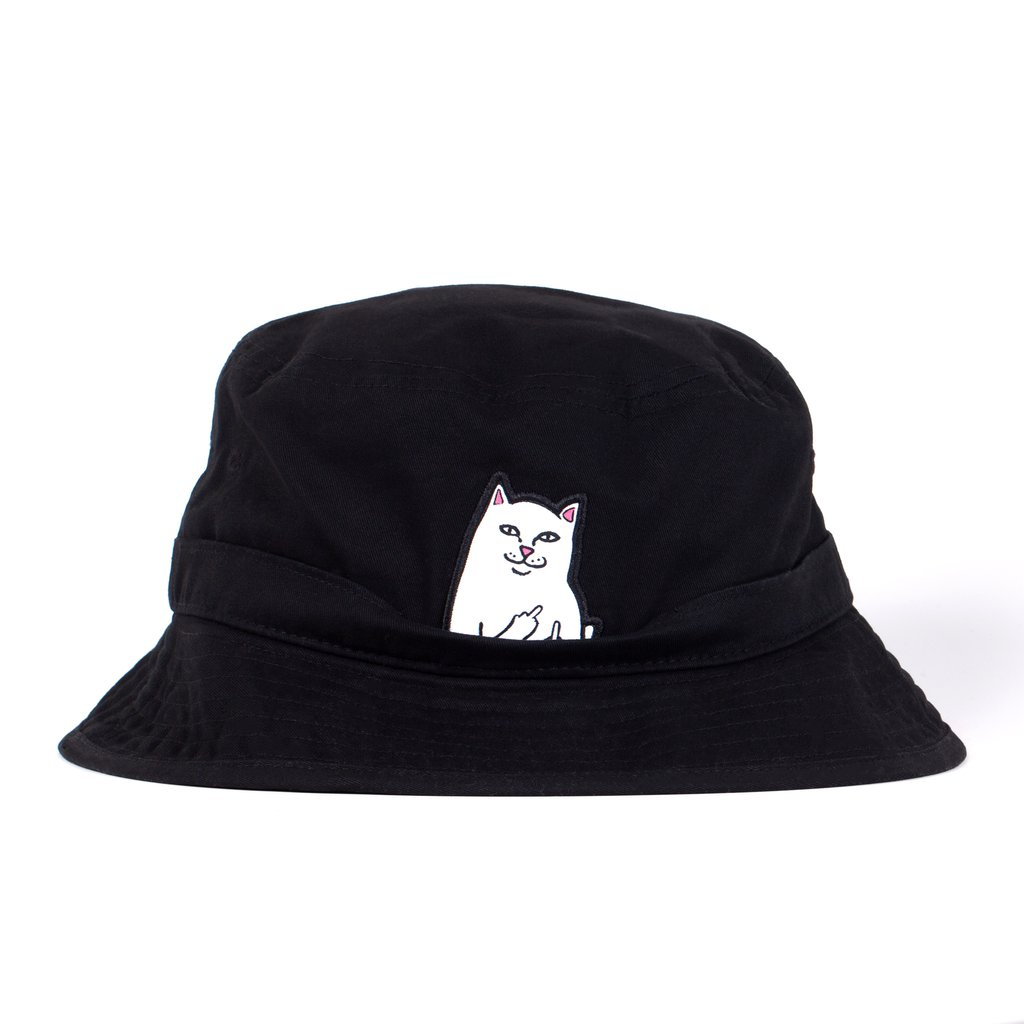 RIPNDIP klobúk Lord Nermal Bucket Hat - Black