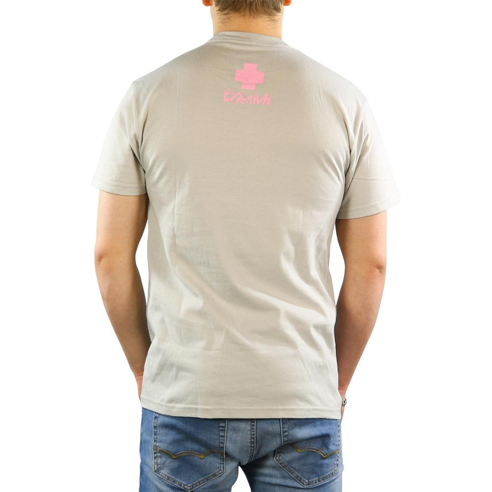 Pink Dolphin tričko UP IN THE CLOUDS TEE - grey