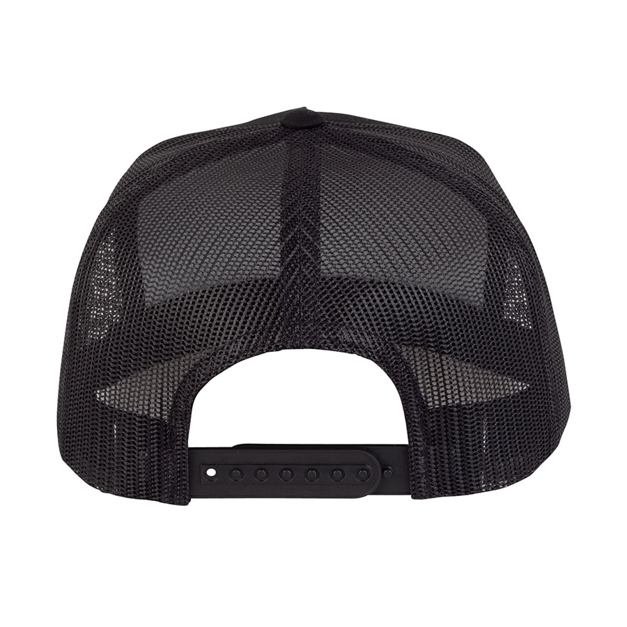 INDEPENDENT šiltovka Baseplate Mesh Trucker High Profile Hat Black / Gold