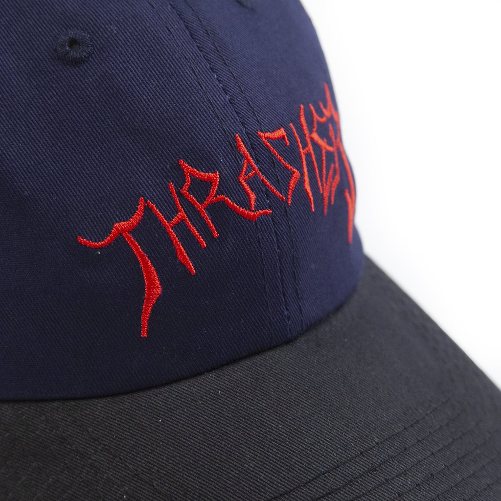 Thrasher šiltovka LOTTIES OLD TIMER HAT - navy/black