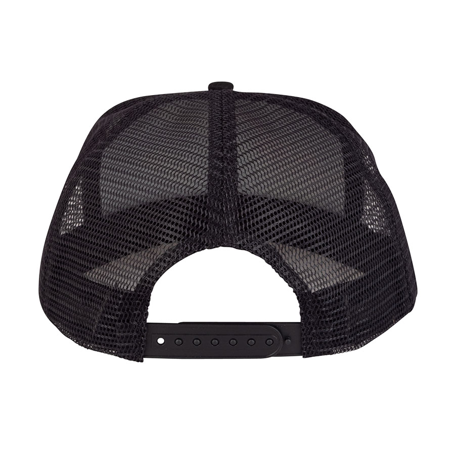 Santa Cruz šiltovka Not a Dot Mesh Trucker Mid Profile Hat - Black