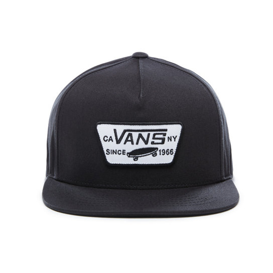 Vans šiltovka FULL PATCH SNAP black
