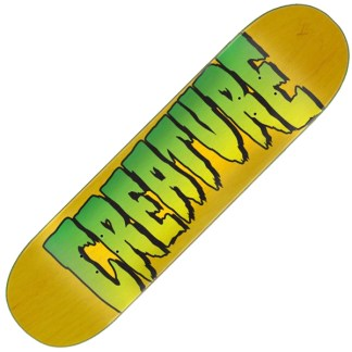 Creature doska Logo Stumps 8.0in x 31.50in - Yellow