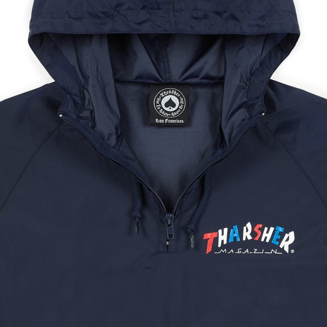 Thrasher bunda KNOCK-OFF ANORAK- navy blue