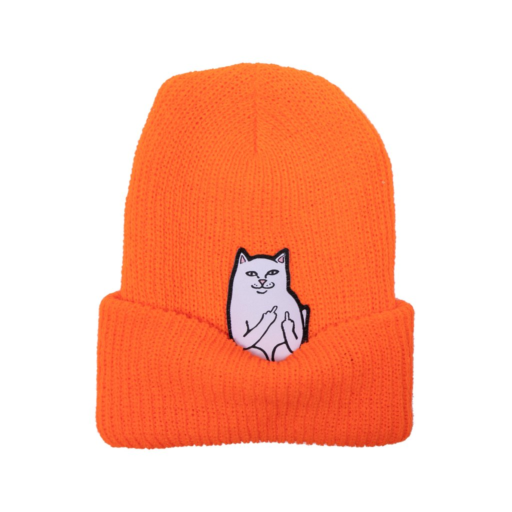 RIPNDIP čiapka Lord Nermal Beanie - orange