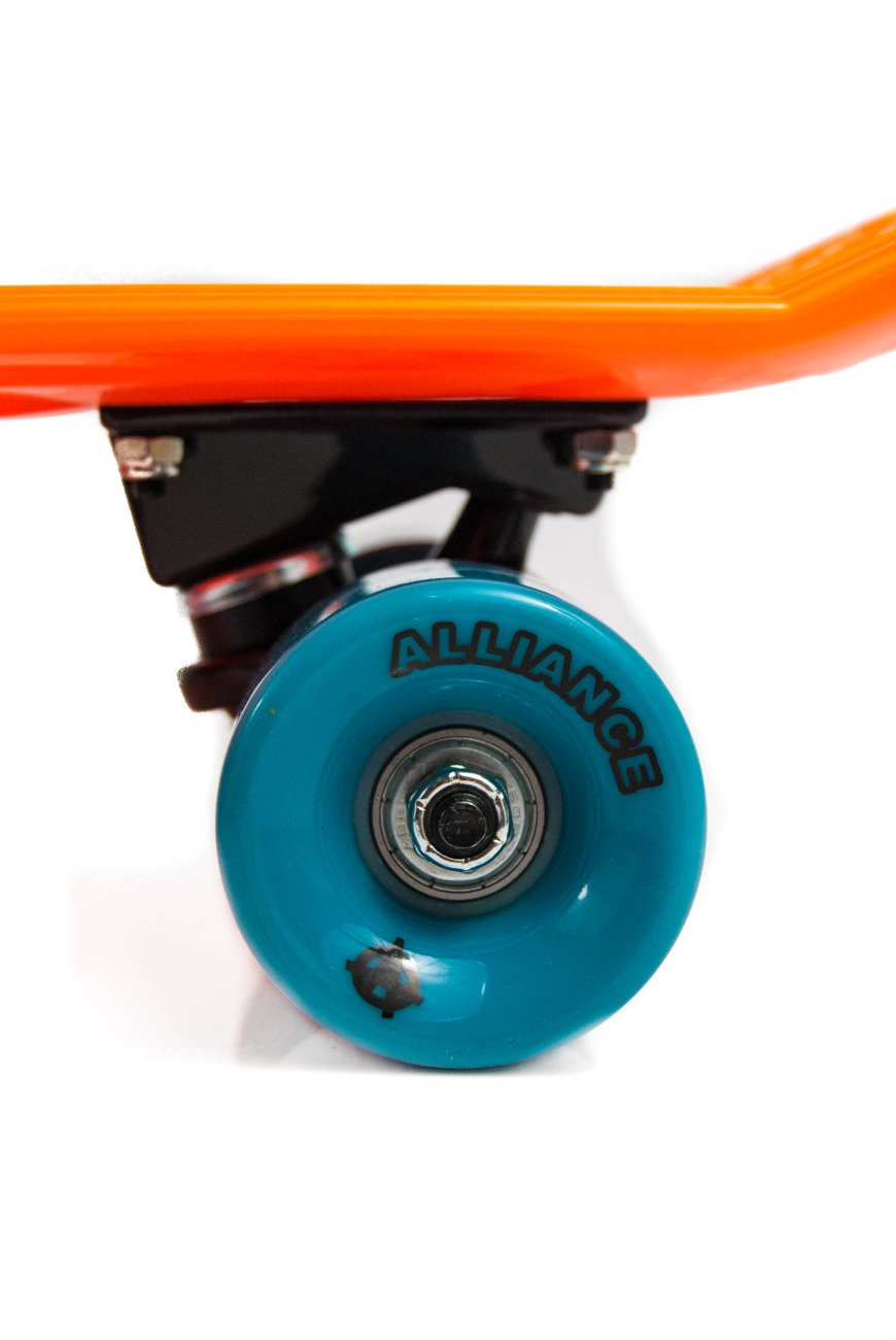 ALLIANCE mini cruiser orange/black/blue