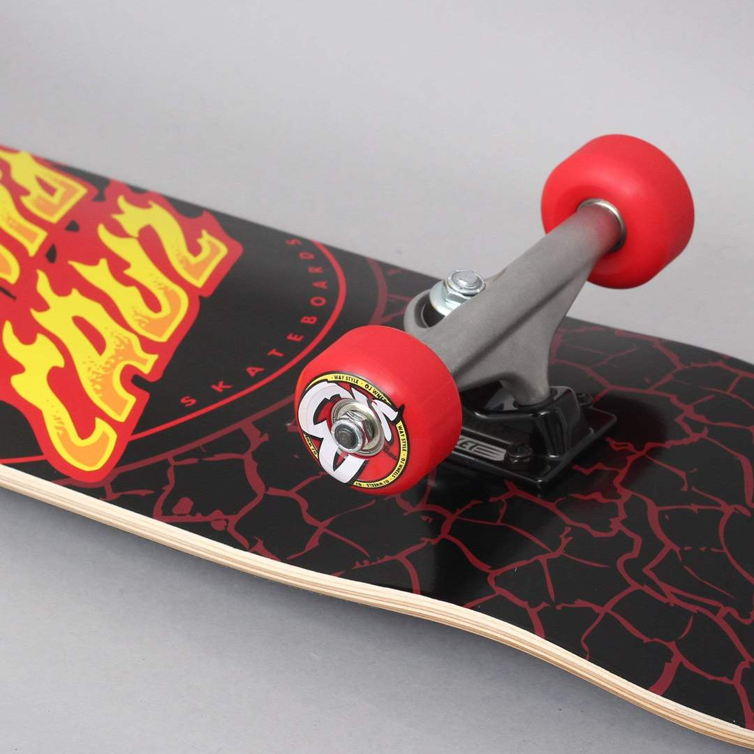 Santa Cruz komplet Flame DOT - Black 8.0