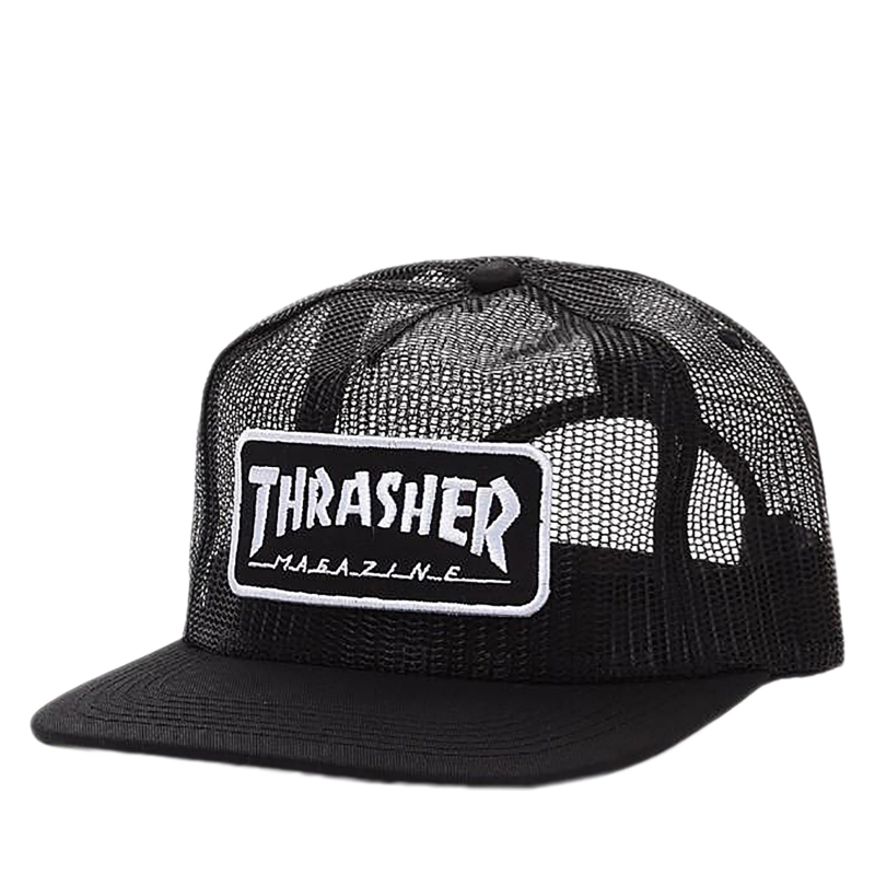 Thrasher MAGAZINE LOGO MESH -black/white