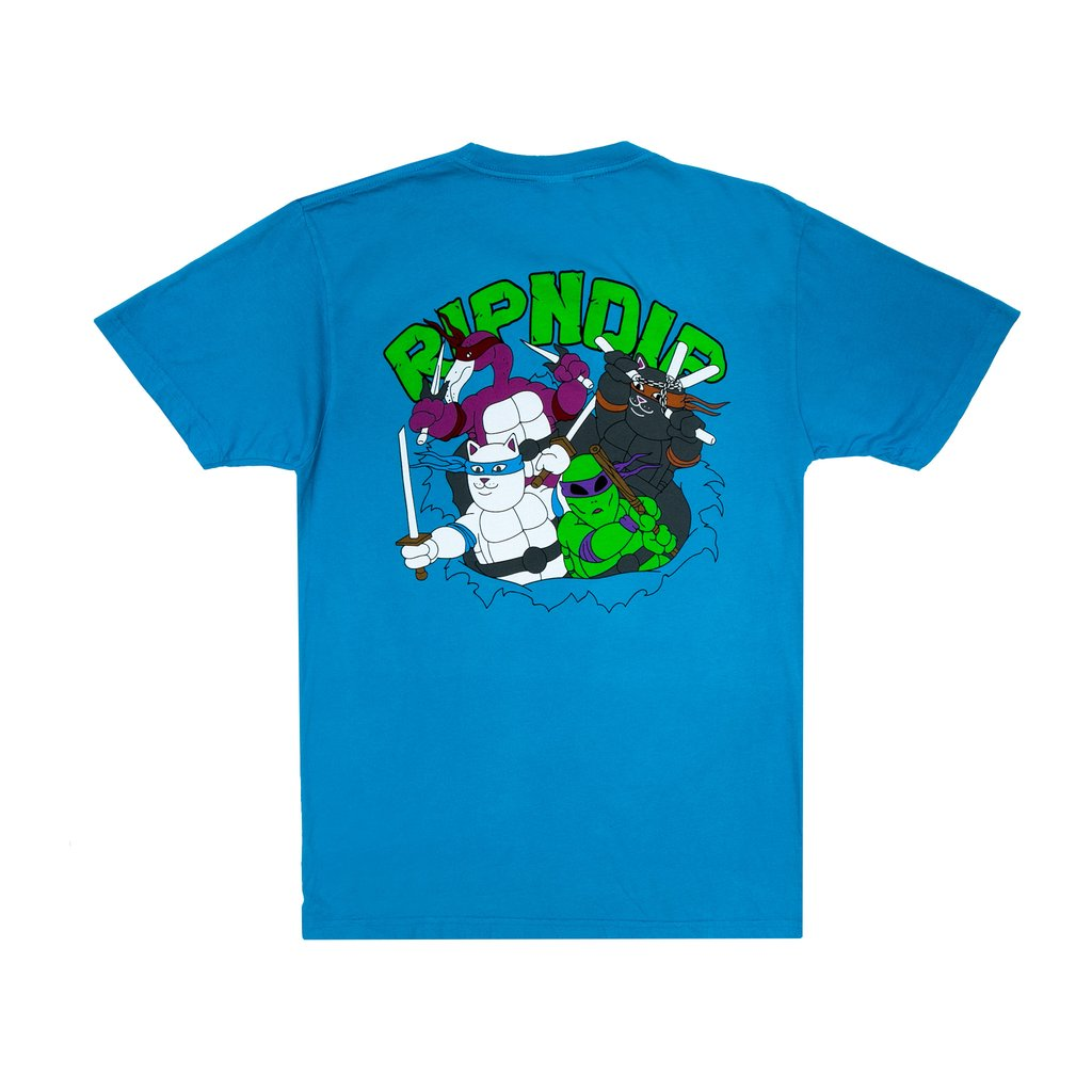 RIPNDIP tričko Teenage Mutant Tee - blue