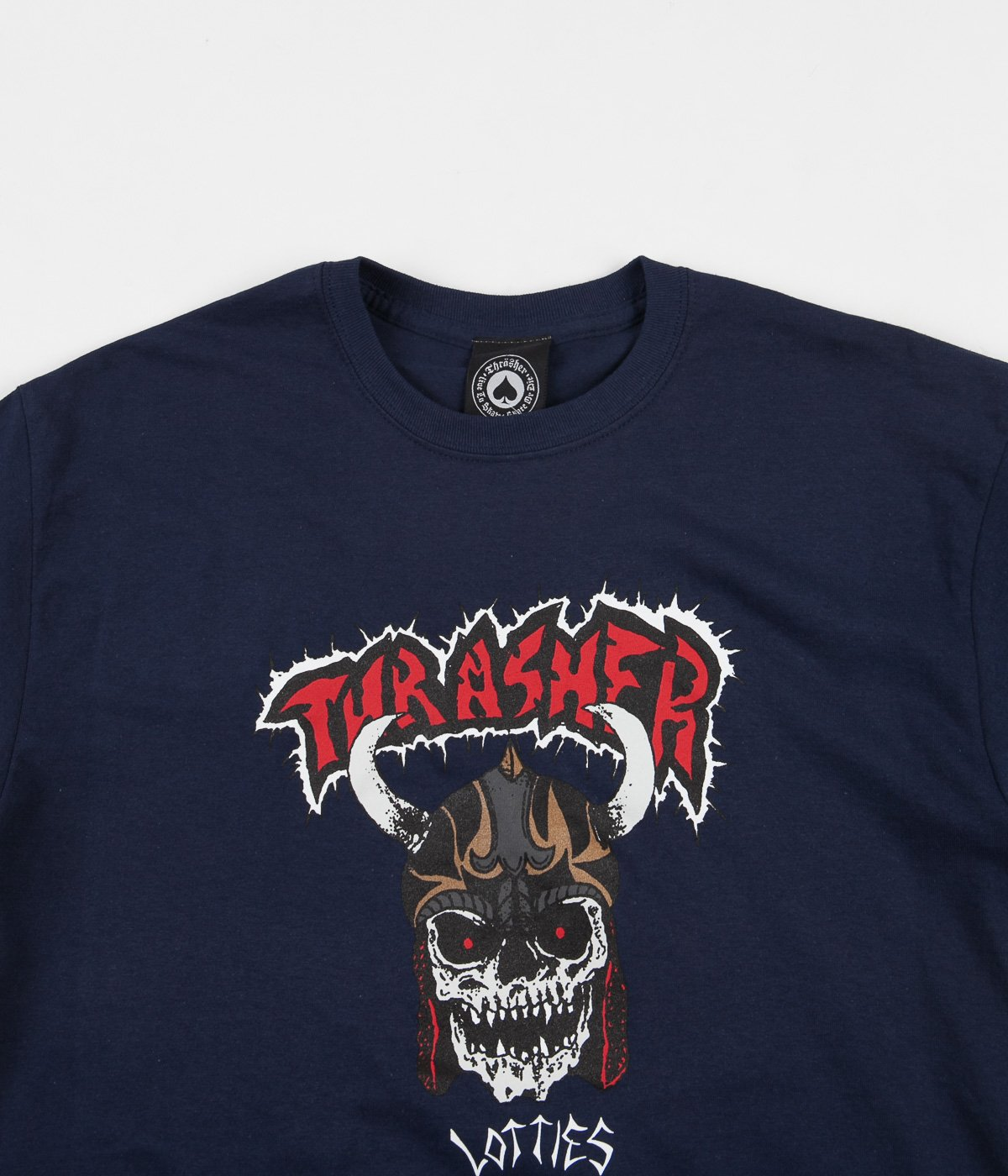 Thrasher tričko LOTTIES S/S- navy