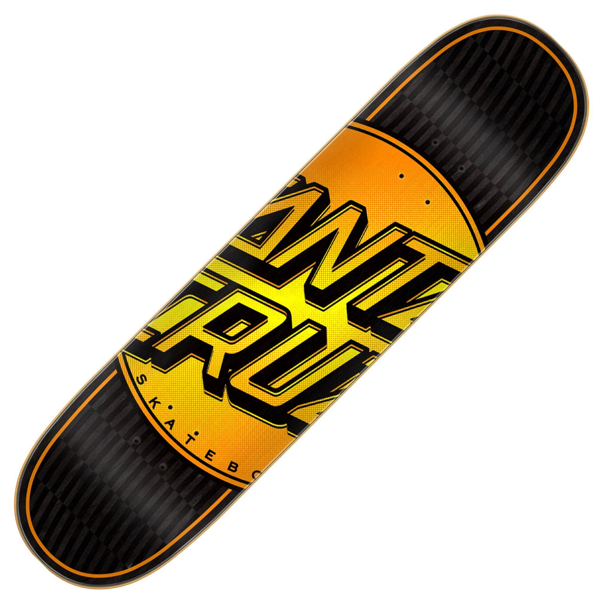 Santa Cruz doska Total dot VX deck 8.0 -  orange/ black