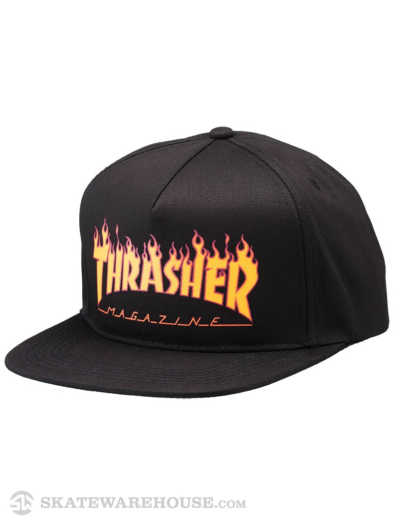 Thrasher snapback Flame logo structed