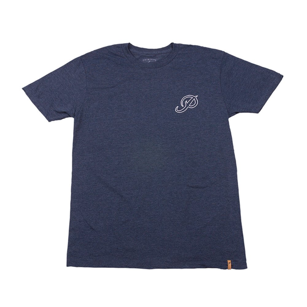 Primitive tričko CLASSIC P OUTLINE heather navy