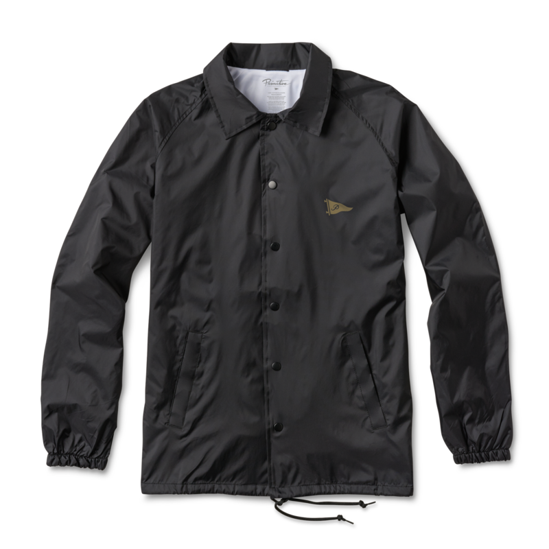 Primitive bunda PENNANT COACHES JACKET black
