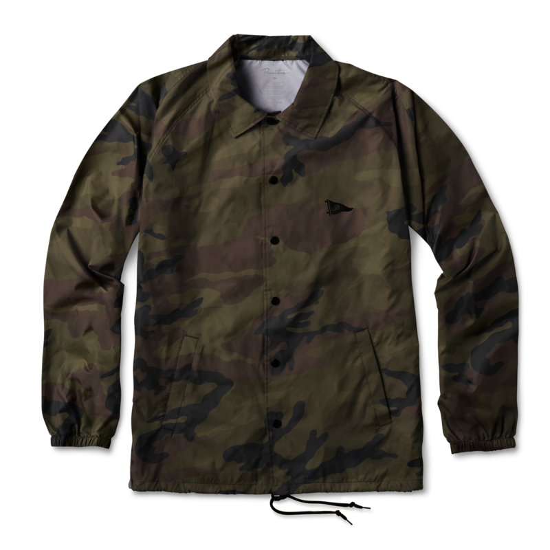Primitive bunda PENNANT COACHES JACKET CAMO