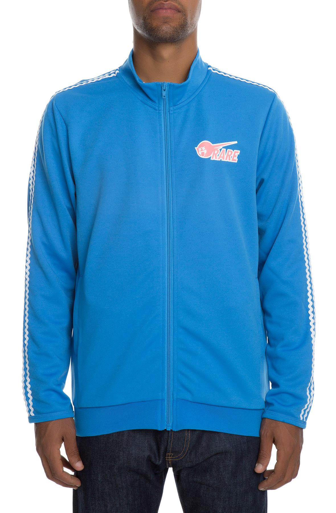Pink Dolphin mikina WAVE STRIPE TRACK TOP- BLUE
