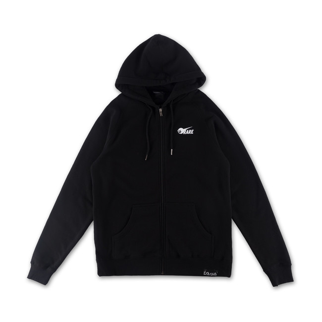 Pink Dolphin RARE AIR ZIP-UP- black