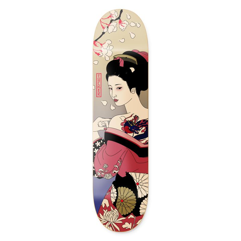 Primitive TUCKER GEISHA DECK 8.0