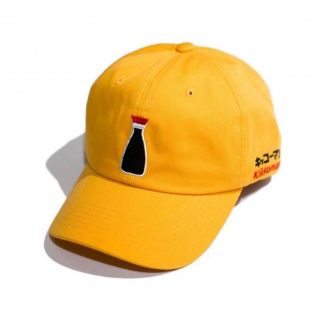 KIKKOMAN šiltovka Dad Hat Gold