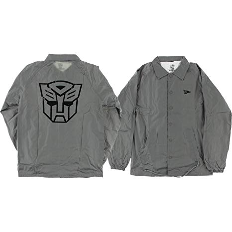 Primitive bunda AUTOBOTS NYLON COACHES JACKET- grey
