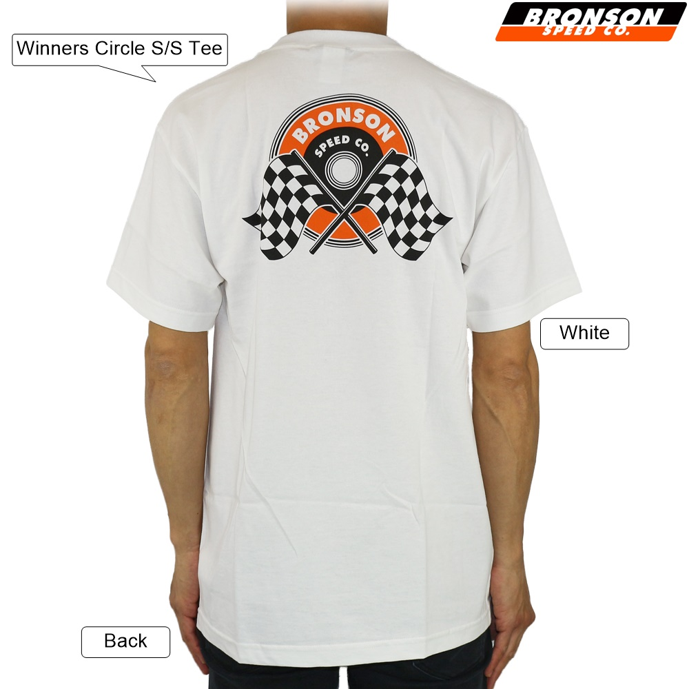 Bronson tričko Winners Circle S/S T-Shirt White