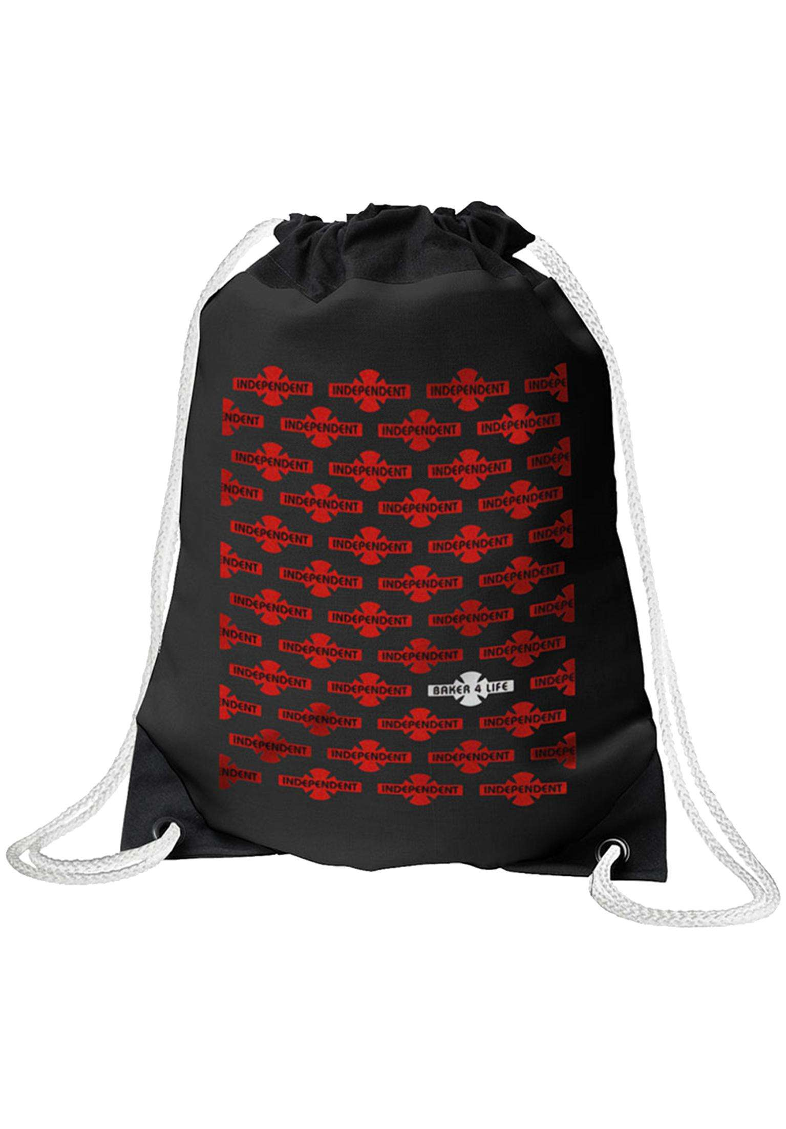 Independent batoh Baker 4 Life Cinch Sack Black