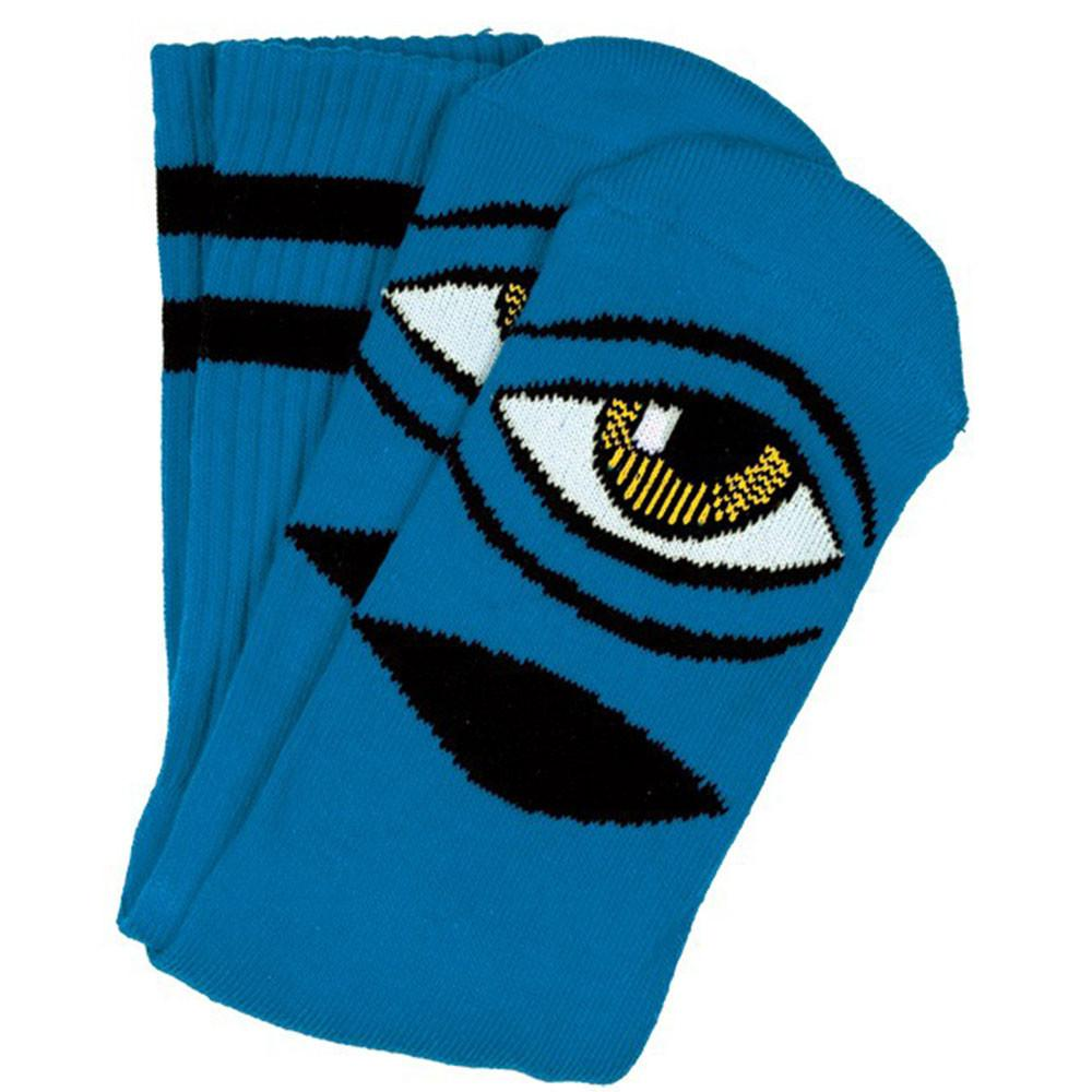Toy Machine ponožky Sect Eye Sock III Sock Aqua