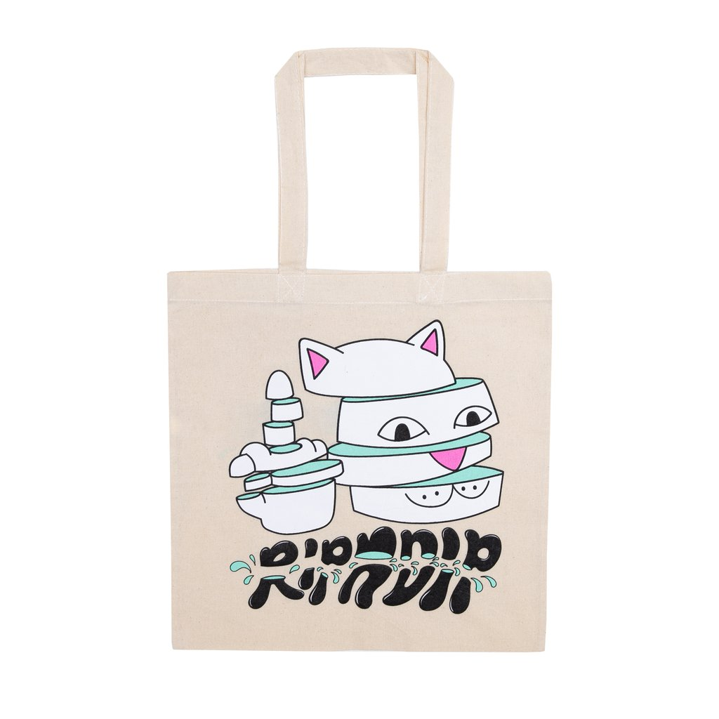 RIPNDIP taška Sliced Tote Bag - natural
