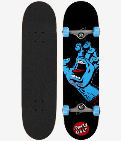 Santa Cruz komplet Screaming Hand Sk8 Completes 8.0 - Black/ Blue