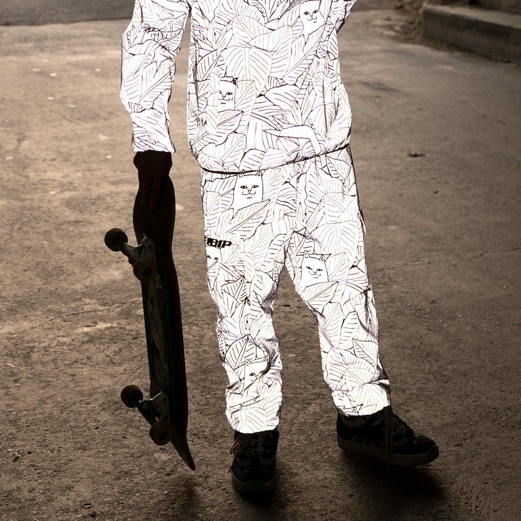 RIPNDIP nohavice Nermal Leaf Reflective Cargo Pants