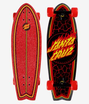 Santa Cruz cruiser Flame Dot 8.8in x 27.7in Cruzer Shark - Flame