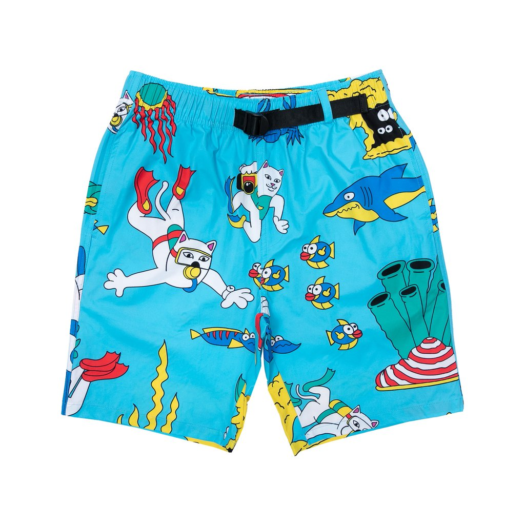 RIPNDIP kraťasy Under The Sea Swim Shorts - Blue