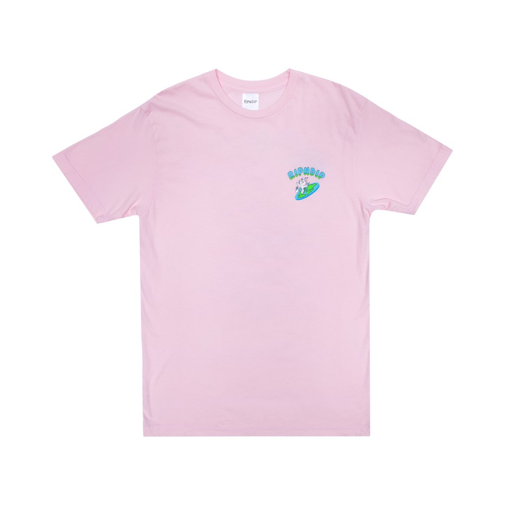 RIPNDIP tričko The World Is Yours Tee - Pink