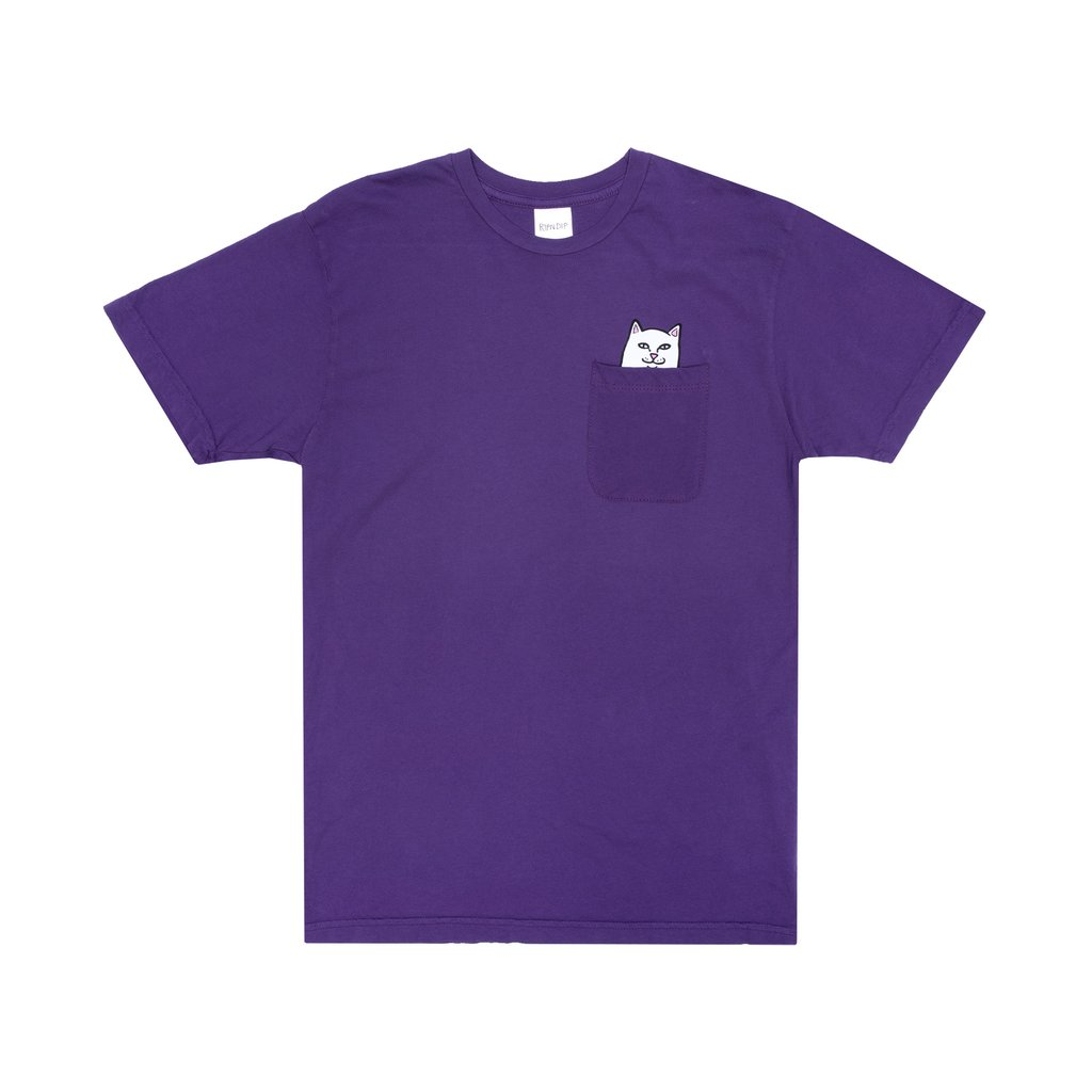 RIPNDIP tričko Lord Nermal Tee - purple