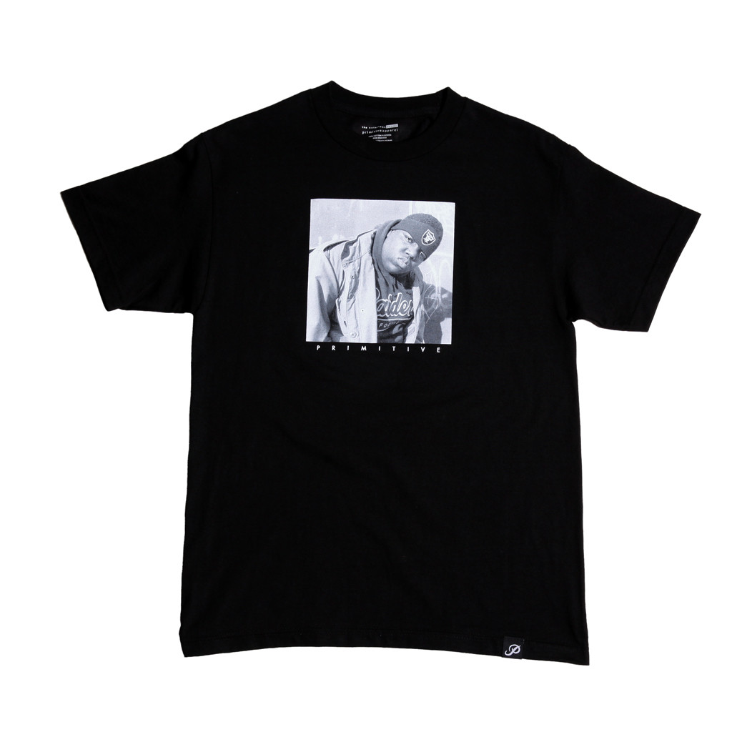 Primitive tričko - Biggie raiders Tee- black