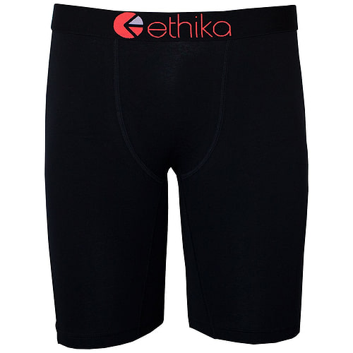 Ethika Black Seal-Black red