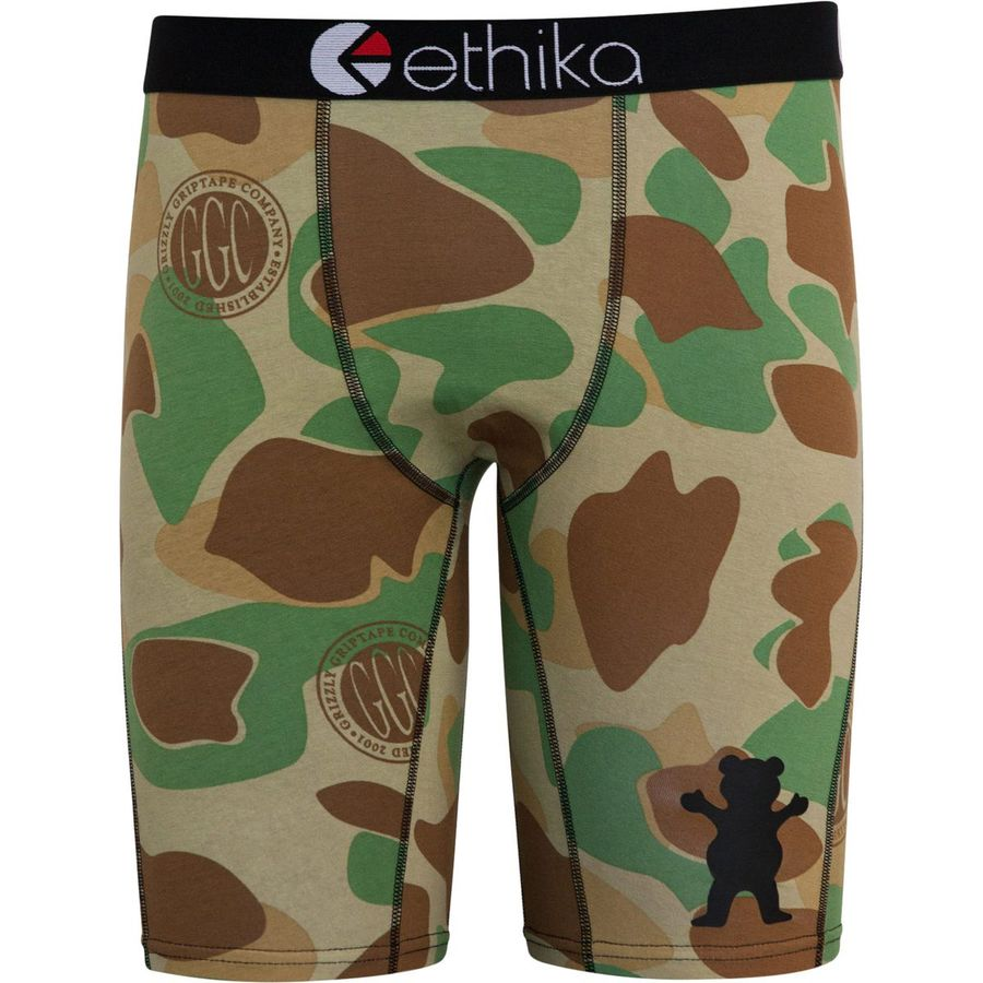 Ethika Grizzly Camo-Brown Camo