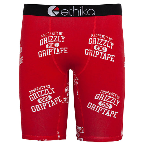 Ethika Grizzly Throwback-red