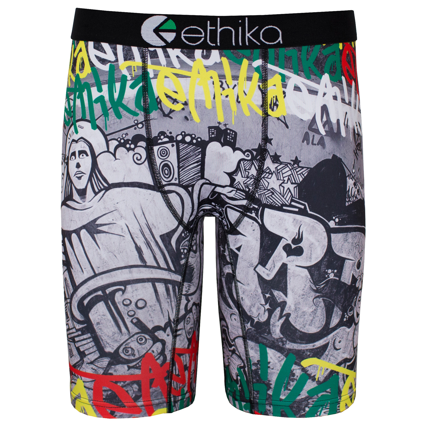 Ethika Rio- Yellow/green