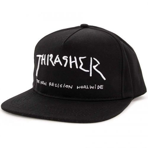 Thrasher šiltovka NEW RELIGION SNAPBACK BLACK